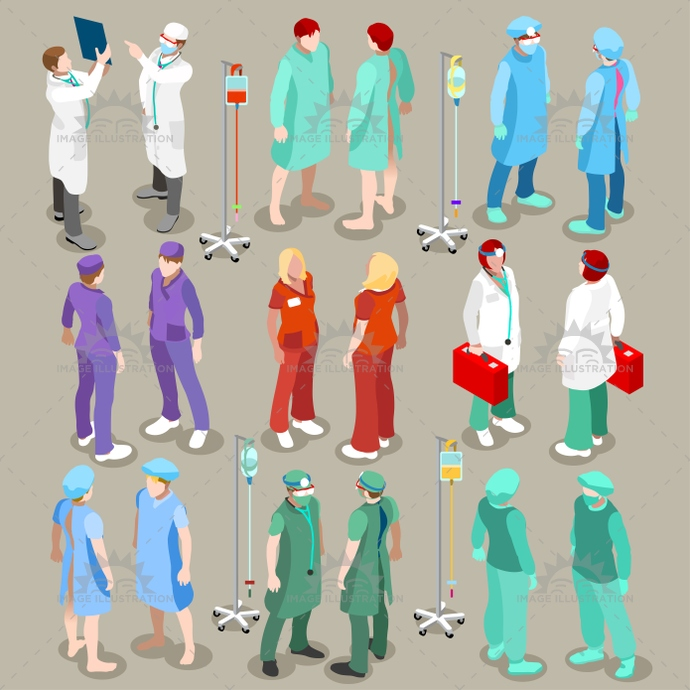 3d, abstract, adult male, app, banner, care, cartoon, character, clinic, clinical support, clinician specialist, collection, doctor, female, flat, gown, graphic, health, Hospital, hospital staff, icon, illustration, infographic, isolated, isometric, isometry, lab, medical, medicine, nurse, patient, people, physician, radiology imaging, robe, set, staff, stylish, surgeon, team, template, vector, web, white, woman, worker