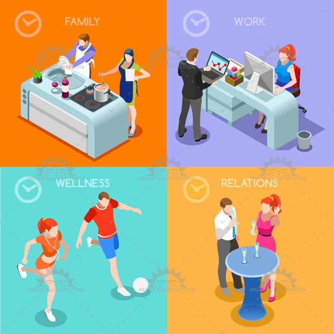 3d, app, balance, best, bright, business, career, cartoon, colorful, cook, cousin, day, design, family, fitness, flat, graphic, happy hour, hobby, illustration, isometric, kitchen, life, love, man, management, meet, metaphor, mind, moment, mum, people, plan, realistic, recipe, relations, report, schedule, sign, sport, stylish, symbol, template, time, vector, web, wellness, woman, work, Working