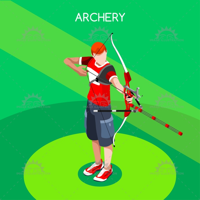 3d, advantage, archery, arrow, athlete, background, bow, bulls eye, bullseye, cartoon, champion, championship, character, competition, competitive, concept, curved, dart, design, flat, focus, games, goal, icon, illustration, infographic, international, isolated, isometric, logo, male, man, online, people, play, player, ribbon, silhouette, sport, summer, symbol, target, vector, web