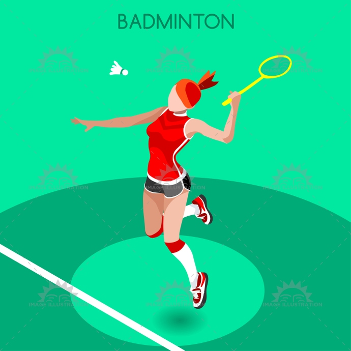 2016, 3d, advantage, athlete, background, badminton, ball, cartoon, champion, championship, character, competition, competitive, concept, court, design, female, flat, games, icon, illustration, infographic, international, isolated, isometric, logo, net, online, people, play, player, racket, shoes, silhouette, sport, squash, star, summer, symbol, tennis, vector, web, winner, woman