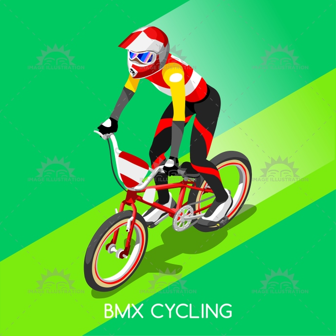 2016, 3d, art, bicycle, bicyclist, bike, biker, bmx, boy, cartoon, character, clip, competition, cup, Cycling, cyclist, flat, games, graphic, group, icon, illustration, infographic, isolated, isometric, lane, logo, man, path, people, person, race, rider, riding, sign, sport, street, summer, Summer Games, symbol, urban, vector
