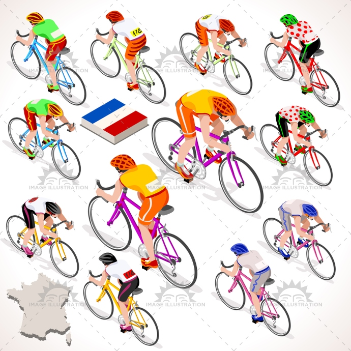 3d, art, bicyclist, bike, biker, bycicle, cartoon, character, clip, competition, Cycling, cyclist, flat, france, giro, graphic, group, icon, illustration, isolated, isometric, isometric people, italy, lane, logo, man, path, people, race, rider, riding, road, sign, spain, sport, street, summer sports, symbol, tile, tour, urban, vector, vuelta