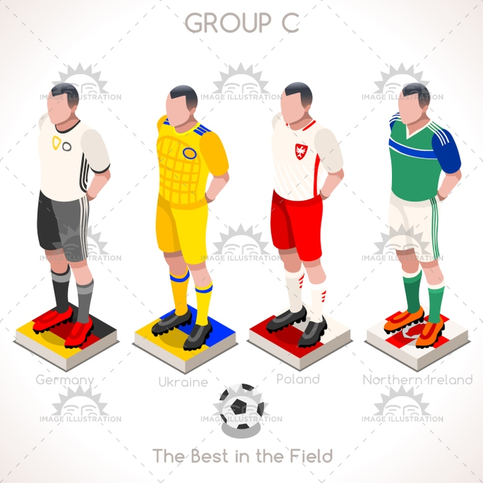 3d, apparel, bet, champion, championship, chart, clothes, collection, countries, cup, euro, european, final, finalist, flag, football, france, french, game, germany, group, group a, icon, illustration, infographic, isolated, isometric, jersey, match, northern ireland, online, participating, people, player, poland, qualified, soccer, sport, stage, t-shirt, team, tournament, uefa, ukraine, uniform, vector, web