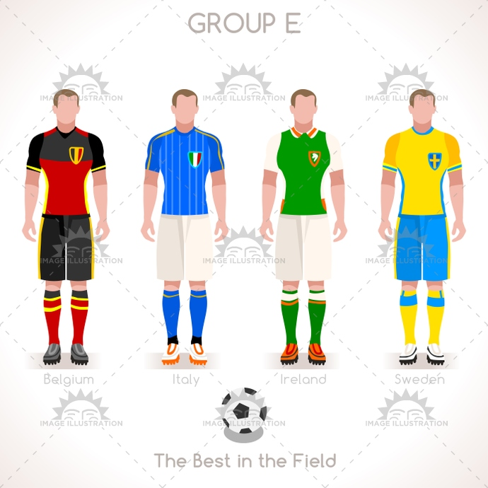 3d, apparel, belgium, bet, champion, championship, chart, clothes, collection, countries, cup, euro, european, final, finalist, flag, flat, football, france, french, game, group, group e, icon, illustration, infographic, Ireland, isolated, italy, jersey, match, online, participating, people, player, qualified, soccer, sport, stage, sweden, t-shirt, team, tournament, uefa, uniform, vector, web