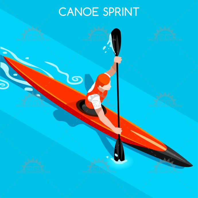 2016, 3d, advantage, athlete, background, business, canoe, canoeist, cartoon, champion, championship, character, competition, competitive, concept, flat, games, icon, illustration, infographic, international, isolated, isometric, kayak, logo, man, online, paddle, paddler, people, play, player, race, river, row, rower, sea, silhouette, speed, sport, sprint, summer, symbol, vector, web, winner
