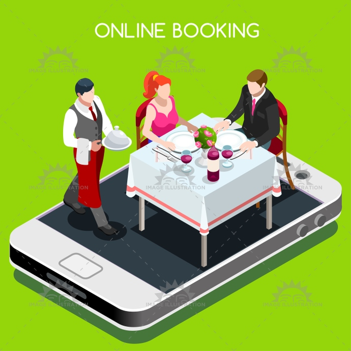 3d, app, arranging, block, book, booking, cafe, cartoon, celebration, characters, confirmation, couple, dining, dinner, engaged, event, fee, flat, food, formal, glass, illustration, information, isometric, man, married, office, online, people, private, red, reservation, reserve, restaurant, smartphone, stylish, table, tablet, template, vector, waiter, web, wedding, wine, woman