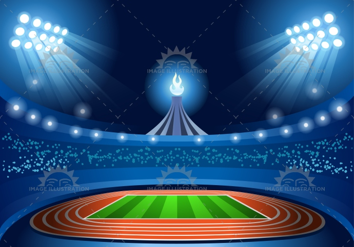 2016, app, arena, athlete, athletics, background, celebration, championship, concept, country, event, federation, field, flame, football, game, goal, gold, group, gymnastics, illustration, illustrative, infographic, international, layout, league, light, martial arts, match, multi-sport, night, nocturnal, official, ring, rugby, soccer, sport, stadium, summer, symbol, template, torch, vector, web, winner, world