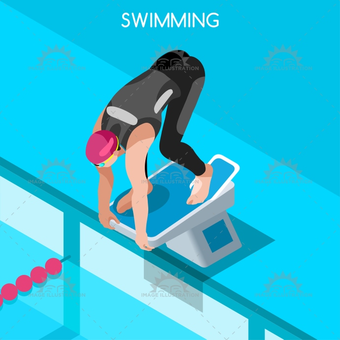 2016, 3d, advantage, athlete, background, backstroke, breaststroke, butterfy, cartoon, champion, championship, character, competition, competitive, concept, dive, flat, freestyle, games, icon, illustration, infographic, international, isolated, isometric, logo, man, marathon, metre, online, people, play, pool, race, relay, silhouette, sport, style, summer, swimmer, swimming, swimming race, symbol, vector, web, winner