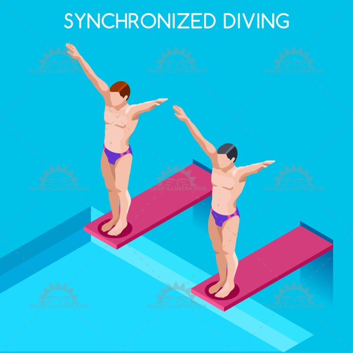 2016, 3d, advantage, athlete, audacity, background, board, cartoon, champion, championship, character, competition, competitive, concept, courage, diver, diving, flat, games, high, icon, illustration, infographic, international, into, isolated, isometric, logo, man, online, people, play, pool, race, silhouette, sport, style, summer, swimmer, swimming, symbol, synchronized, vector, water, web, winner