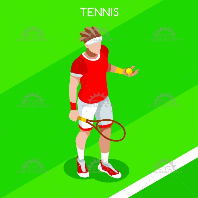 2016, 3d, advantage, athlete, background, ball, cartoon, champion, championship, character, competition, competitive, concept, court, design, flat, games, grass, icon, illustration, infographic, international, isolated, isometric, logo, male, man, net, online, people, play, player, racket, shoes, silhouette, sport, star, style, summer, symbol, tennis, vector, web, winner