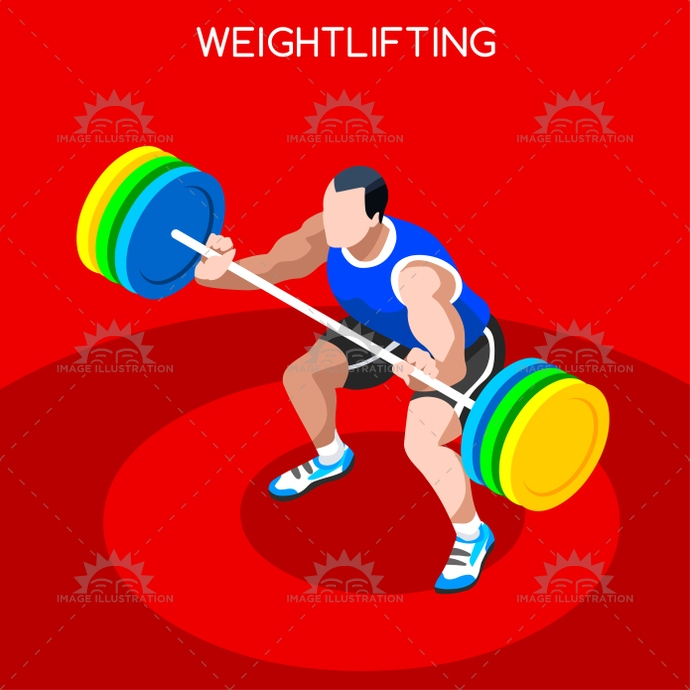 2016, 3d, advantage, athlete, athletic, background, barbell, bodybuilding, boy, cartoon, champion, championship, character, clean, competition, competitive, concept, design, flat, games, icon, illustration, infographic, international, isolated, isometric, jerk, logo, male, man, maximum, online, people, score, silhouette, snatch, sport, summer, symbol, vector, web, weight, weightlifter, weightlifting