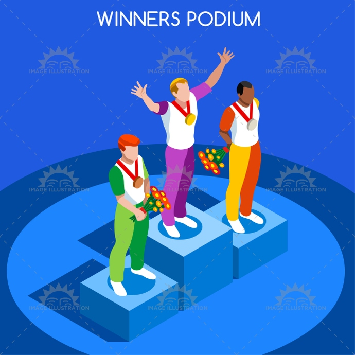 2016, 3d, advantage, athlete, athletics, background, boy, business, cartoon, champion, championship, character, competition, competitive, concept, event, flat, games, gold, gymnastics, icon, illustration, infographic, international, isolated, isometric, logo, male, man, martial art, medal, people, podium, prize, sailing, silhouette, soccer, sport, stand, summer, symbol, vector, web, winner, winning, world
