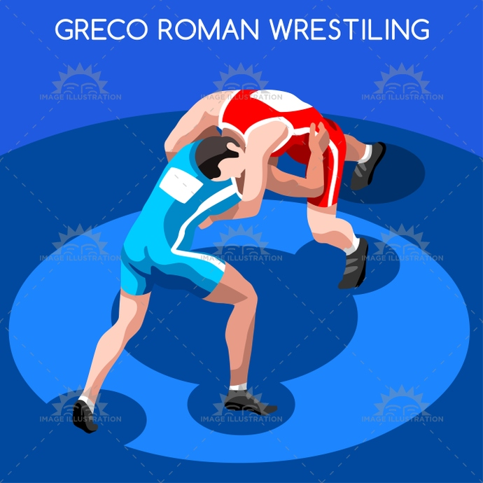 2016, 3d, advantage, athlete, background, boy, cartoon, champion, championship, character, competition, competitive, concept, design, fight, fighter, fighting, flat, games, grabbing, greco roman, hooking, icon, illustration, infographic, international, isolated, isometric, logo, male, man, match, online, opponent, people, silhouette, sport, stadium, summer, symbol, vector, web, wrestler, wrestling