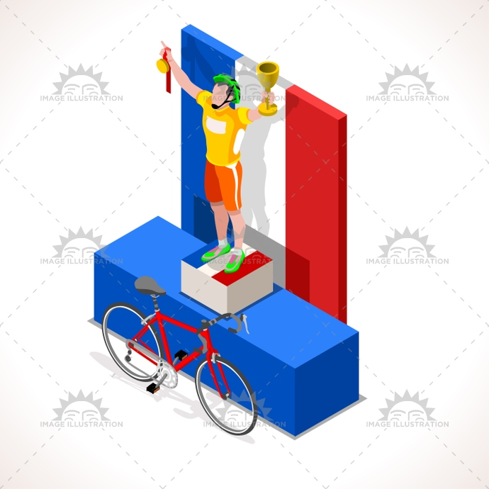 2016, 3d, art, bicycle, bicyclist, bike, cartoon, character, clip, competition, competitiveness, Cycling, cyclist, final, first, flat, france, graphic, grpup, icon, illustration, isolated, isometric, lane, logo, man, medal, path, people, podium, race, racing, riding, sign, silhouette, sport, Summer Games, symbol, team, tile, tour, vector, victory, win