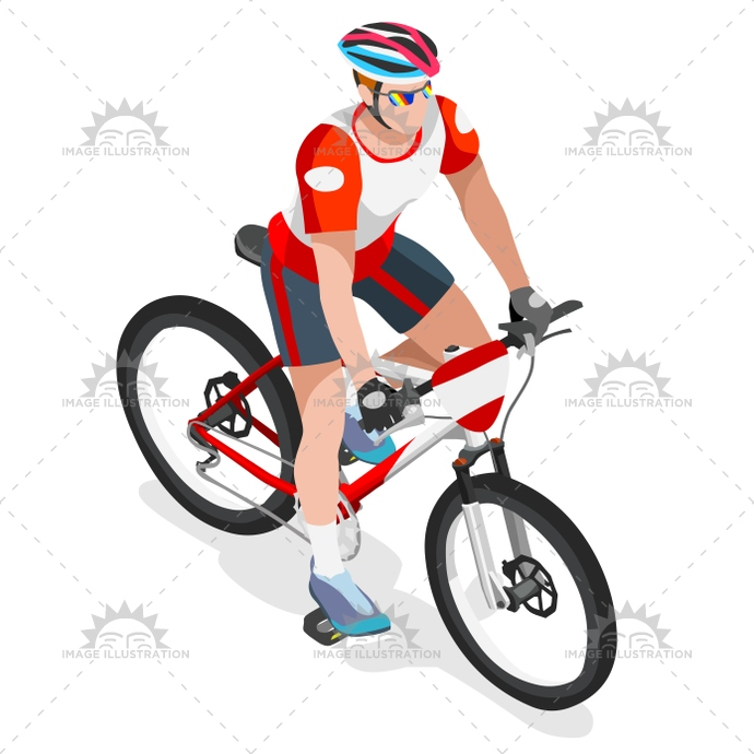 2016, 3d, art, bicycle, bicyclist, biker, boy, cartoon, character, clip, competition, cup, Cycling, cyclist, flat, games, graphic, group, icon, illustration, infographic, isolated, isometric, lane, logo, man, mountain bike, mountain biking, path, people, person, race, rider, riding, sign, sport, street, summer, Summer Games, symbol, urban, vector