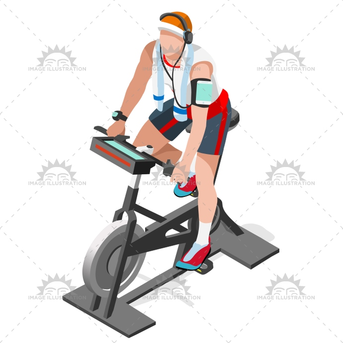 3d, activity, athlete, background, being, bicycle, bicyclist, bike, body, cardio, care, cartoon, center, character, class, course, Cycling, cyclist, equipment, exercise, fit, fitness, gym, gymnasium, health, icon, illustration, indoor, infographic, isolated, isometric, machine, man, muscle, people, physical, race, riding, silhouette, spinning, sport, stationary, template, track, training, treadmill, vector, web, working out, workout
