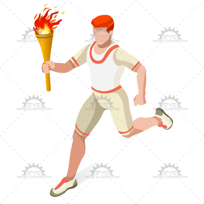 2016, 3d, advantage, athlete, background, boy, cartoon, champion, championship, character, competition, competitive, concept, event, fire, flame, flat, games, icon, illustration, infographic, international, isolated, isometric, jogger, light, logo, man, people, relay, runner, running, shoes, silhouette, speed, spirit, sport, sprint, summer, symbol, torch, torchbearer, vector, walking, web, world