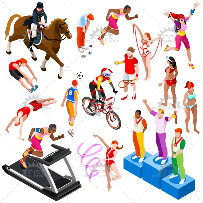 abstract, active, art, athlete, athletic, ball, beach volleyball, character, collection, competition, concept, cyclist, decorative, design, element, equestrian, exercise, football, game, golf, graphic, gym, gymnastic, Horse, icon, illustration, isolated, isometric, jump, man, object, play, player, professional, racket, runner, running, set, sign, soccer, sport, sportsman, sprinter, symbol, tennis, throwing, vector, winner podium, woman