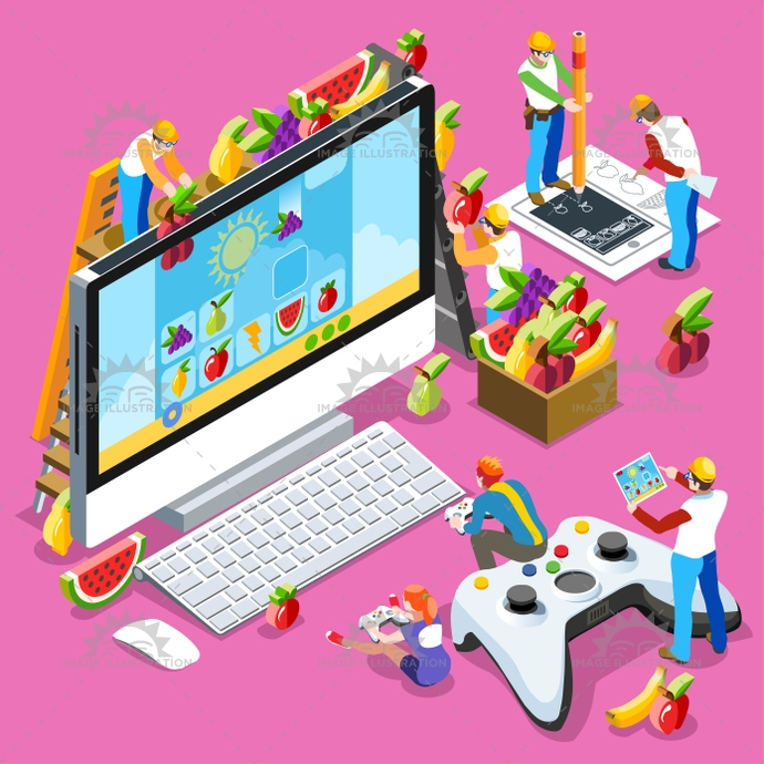 3d, abstract, android, arcade, art, background, boy, character, collection, computer, concept, console, controller, creative, data, design, development, flat, gamer, gaming, geek, girl, glasses, graphic, gui, icon, illustration, installation, isolated, isometric, kid, multiplayer, nerd, online, pc, people, person, phone, play, set, social, software, stream, ui, ux, vector, video game, virtual reality, wallpaper, web