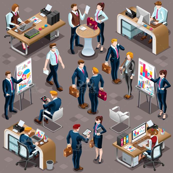 3d, agreement, analysis, bank, boss, business, career, character, collection, conference, deal, desk, employee, exhibition, female, financial, furniture, group, icon, illustration, infograph, infographic, interview, isolated, isometric, Job, lead, leader, leadership, male, man, management, manager, meet, meeting, partnership, people, room, sale, set, staff, standing, teamwork, training, trendy, vector, white, woman, work, worker