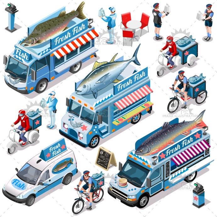3d, ads, advertise, away, bundle, car, client, collection, customer, delivery, distribution, door, family, fast, fish, fishmonger, food, girl, guy, home, icon, infographic, isolated, isometric, kit, leaflet, man, market, meal, online, order, people, person, placard, process, service, set, shipping, shop, site, standing, steps, take, truck, van, vector, vehicle, web, white, worker