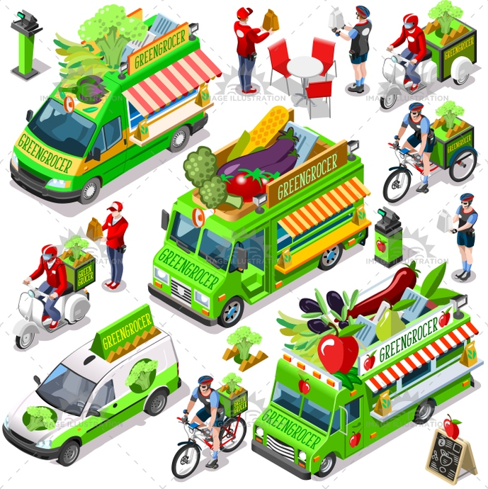 3d, ads, advertise, away, bundle, car, client, collection, customer, delivery, distribution, door, family, fast, food, girl, greengrocer, guy, home, icon, infographic, isolated, isometric, kit, leaflet, man, meal, online, order, people, person, placard, process, service, set, shipping, site, standing, steps, supermarket, take, takeaway, truck, van, vector, vegetable, vehicle, web, white, worker