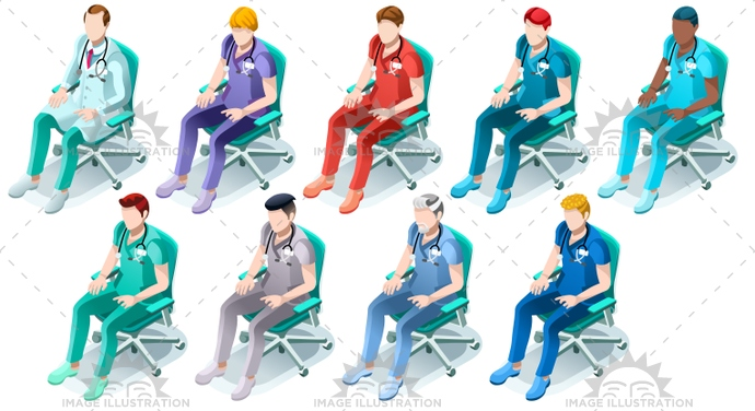 3d, black, blue, bundle, care, chair, clinic, clinical, code, color, creative, design, doctor, flat, group, health, healthcare, Hospital, illustration, image, infographic, isolated, isometric, male, man, medic, medical, nurse, nursing, people, person, physician, physiotherapist, professional, scrub, senior, silhouette, sitting, staff, station, stethoscope, surgeon, surgery, team, turquoise, uniform, vector, white