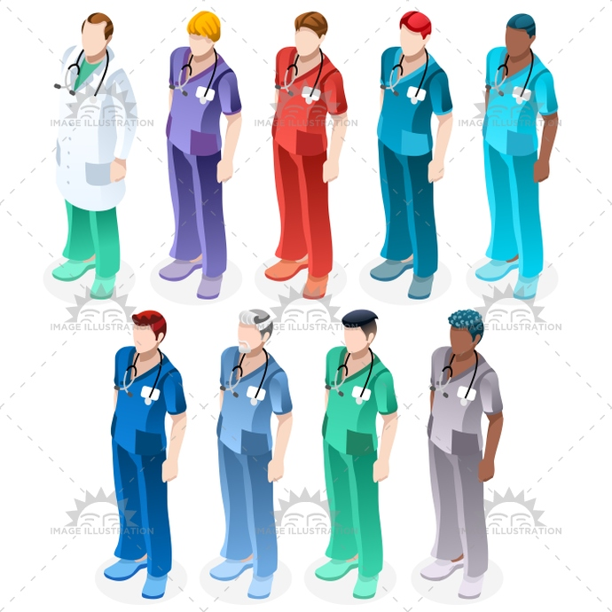 3d, black, blue, bundle, care, clinic, clinical, code, color, creative, design, doctor, flat, group, health, healthcare, Hospital, illustration, image, infographic, isolated, isometric, male, man, medic, medical, nurse, nursing, people, person, physician, physiotherapist, professional, scrub, senior, silhouette, staff, standing, station, stethoscope, surgeon, surgery, team, turquoise, uniform, vector, white