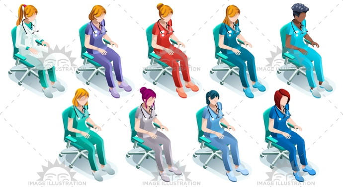3d, black, blue, bundle, care, chair, clinic, clinical, code, color, creative, design, doctor, female, flat, group, health, healthcare, Hospital, illustration, image, infographic, isolated, isometric, medic, medical, nurse, nursing, people, person, physician, physiotherapist, professional, scrub, senior, silhouette, sitting, staff, station, stethoscope, surgeon, surgery, team, turquoise, uniform, vector, white, woman