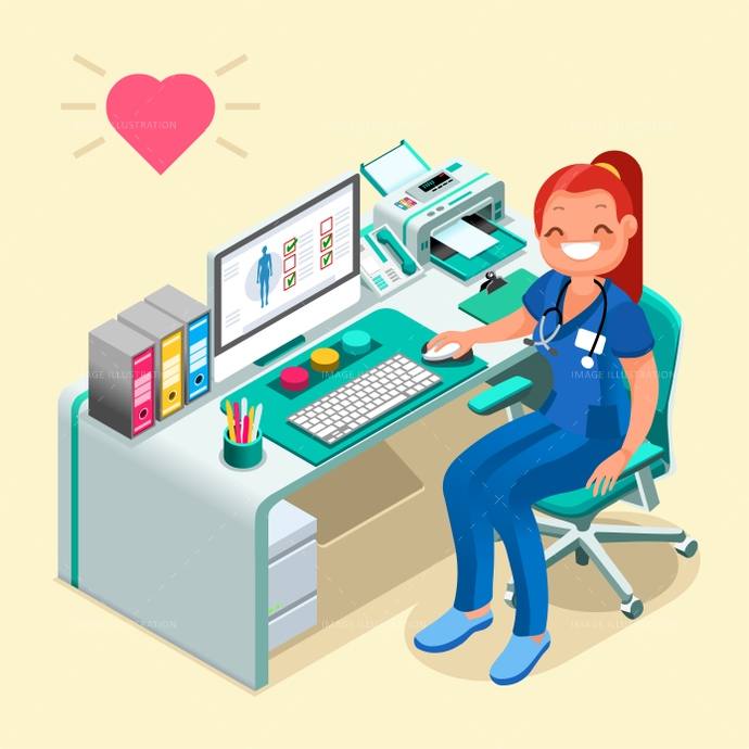 3d, abstract, assistant, cartoon, character, computer, concept, constructor, degree, design, desk, devices, diagnostic, Diagram, doctor, education, equipment, female, flat, graphic, happy, healthcare, heart, Hospital, illustration, infographic, instruments, internet, isometric people, layout, medical, monitor, nurse, office, patient, presentation, professionals, room, safety, school, screen, smile, smiling, staff, station, stethoscope, technology, template, uniform, vector