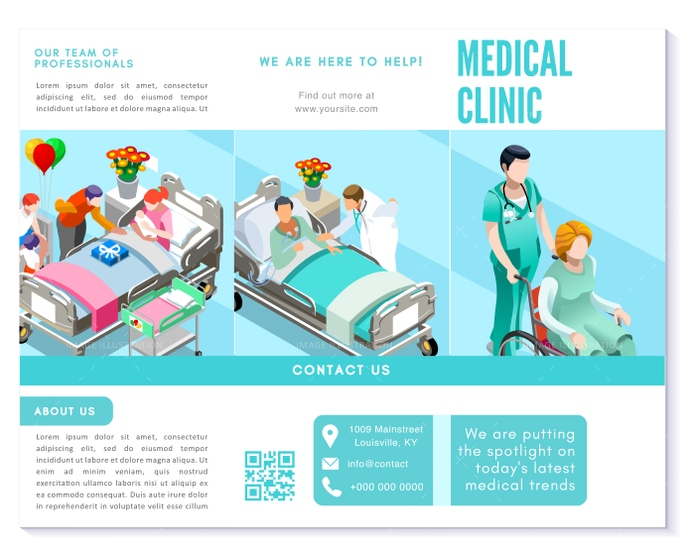 background, blue, branding, brochure, business, care, clean, clinic, clinical, design, detail, details, different, doctor, ease, easily, easy, editable, elderly, element, eps10, flat, flyer, font, health, healthcare, Hospital, idea, illustration, info, informations, isometric, layout, medical, modern, nurse, patient, presentation, professional, services, simple, simply, talk, template, text, trifold, turquoise, vector, white