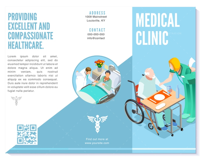 background, basic, blue, branding, brochure, business, care, clean, clinic, color, design, detail, different, doctor, ease, easily, easy, editable, elderly, element, eps10, flat, flyer, font, health, healthcare, Hospital, idea, illustration, info, informations, isometric, isometric people, layout, medical, modern, nurse, patient, people, presentation, professional, simple, simply, template, text, trifold, turquoise, vector, white