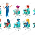 School Nurse Clip Art Bundle Medical