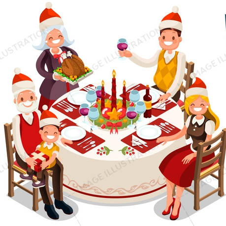 christmas clipart illustrations on image illustration rh image illustration net christmas dinner clip art free images christmas dinner clip art free images