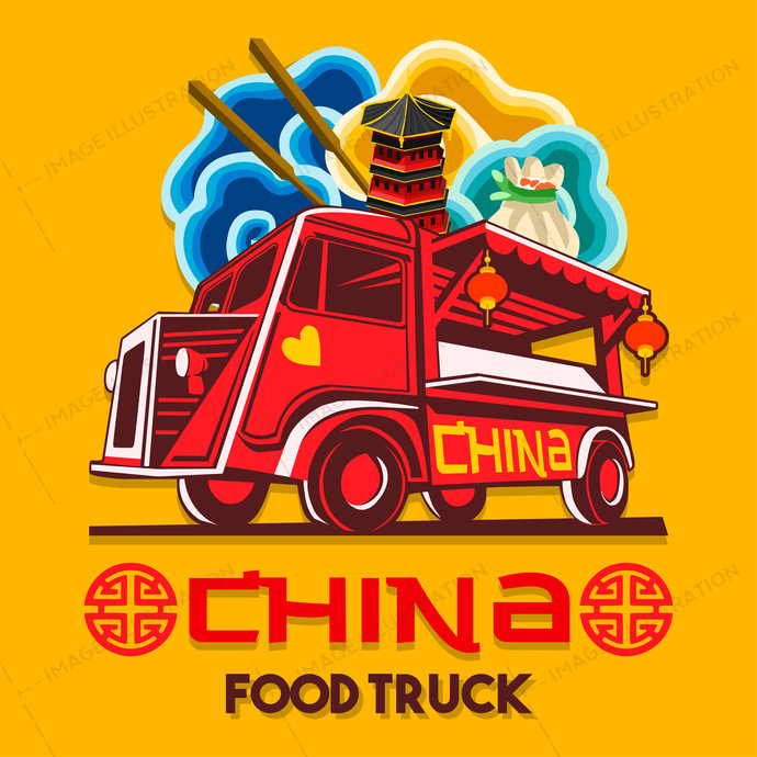 ads, advertise, background, badge, business, car, catering, china, chinese, delivery, design, dinner, driving, dumpling, eat, eatery, fast, festival, food, front, graphic, grocery, hipster, icon, illustration, isolated, label, logo, logotype, lunch, meal, mobile, old, restaurant, rice, round, service, shop, shrimp, signs, soy, street, symbol, transport, truck, van, vector, vehicle, vintage