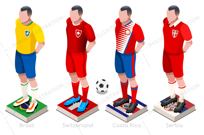 World Cup Football Shirts Vector - Image Illustration 4af5795a1