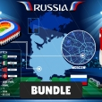 World Cup Russia Stadium Bundle
