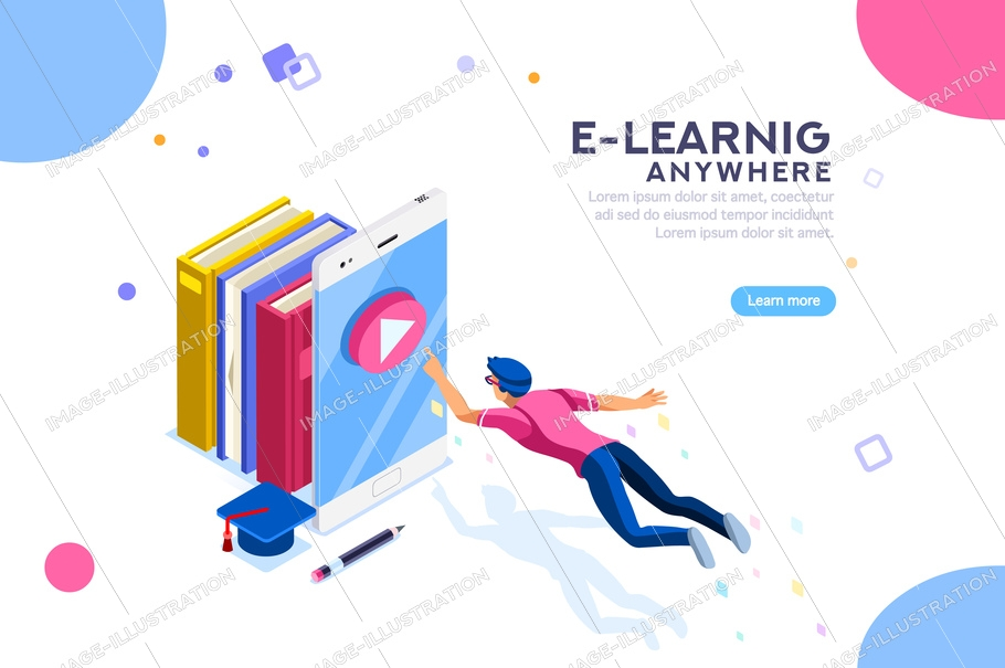 Tutorial Search E Learning Banner Image Illustration