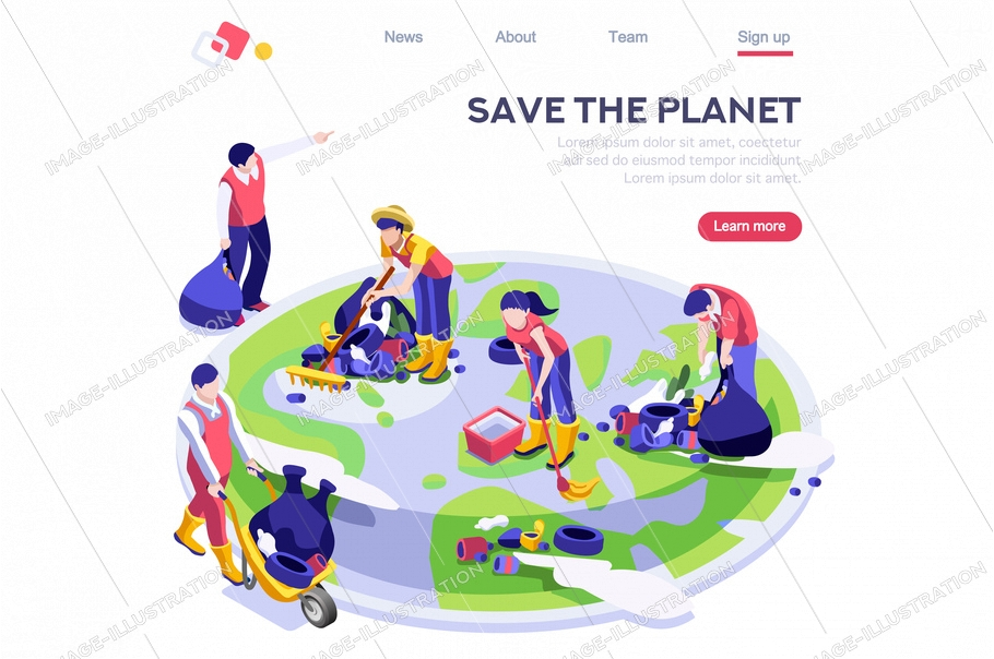 Environmental cartoon, ecology resource. Environment, lifestyle, ecological geography banner. Planet pollution bio poster surface. Brochure save the world flyer concept flat vector illustration banner